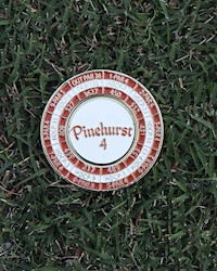 Pinehurst No. 4 Score Coin THUMBNAIL