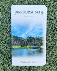 Pinehurst No. 9 Yardage Guide THUMBNAIL