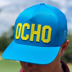 G/FORE - Ocho Cap - Blue/Yellow LARGE