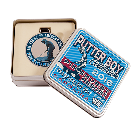 Putter Boy Limited Edition Tin Bag Tag