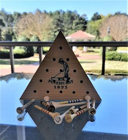 Pinehurst Golf Tee Triangle Peg Game LARGE