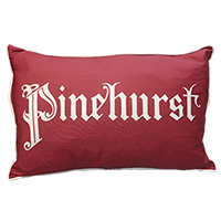 Pinehurst Old English Script 14x22 Spirit Pillow THUMBNAIL