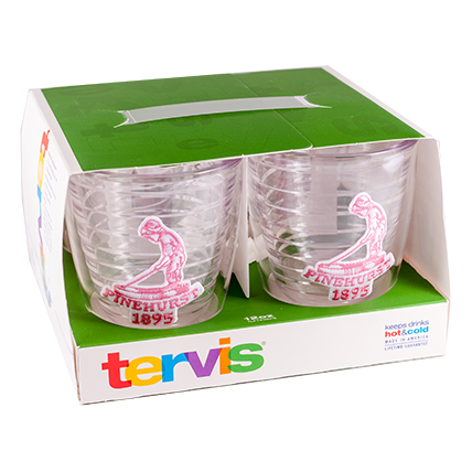 Tervis - Set of 4 - 12oz Tumblers Pink