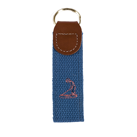 Putter Boy Embroidered Key Fob