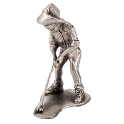 Pewter Putter Boy