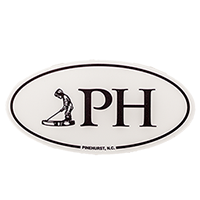 Pinehurst (PH) Car Decal