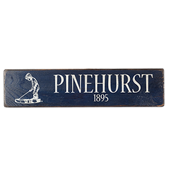 Pinehurst 1895 Sign MAIN