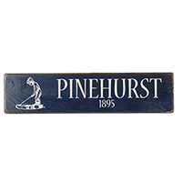 Pinehurst 1895 Sign THUMBNAIL