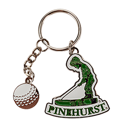 Pinehurst Dangle Key Chain