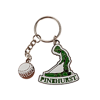 Pinehurst Dangle Key Chain THUMBNAIL