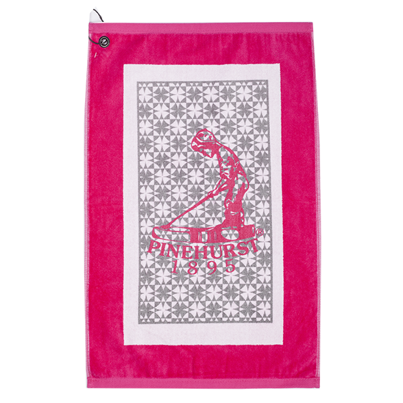 Pinehurst Fresh Argyle Towel THUMBNAIL