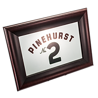 Pinehurst No. 2 Flag Bar Mirror