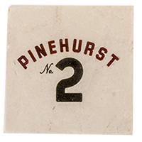 Stone Coaster Set (2) - Pinehurst No. 2