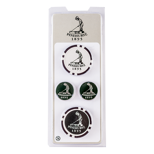 Pinehurst Poker Chip & Ball Marker Set MAIN