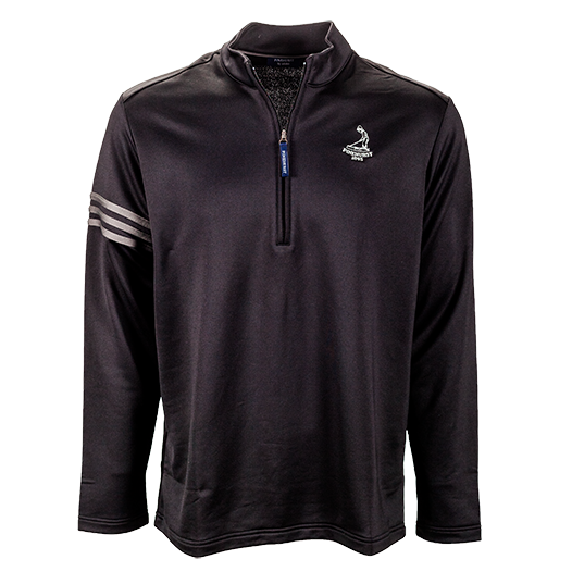 Pinehurst Private Label Half Zip 3 Stripe Pullover Mini-Thumbnail