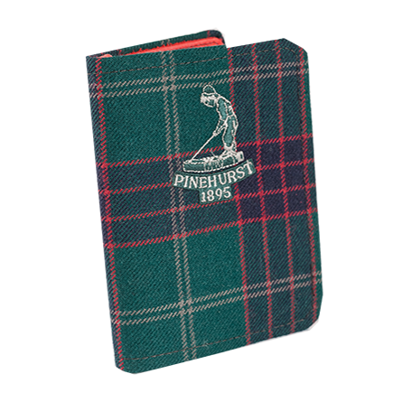 Pinehurst Tartan Scorecard Holder