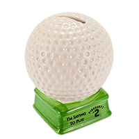 Pinehurst No. 2 Golf Ball Bank
