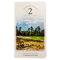 Pinehurst Course Yardage Guide