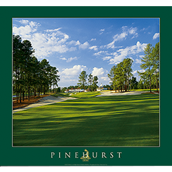 Pinehurst 18th on Course No. 4 Poster