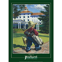 Back to Pinehurst Poster THUMBNAIL