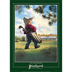 Off to Pinehurst Poster