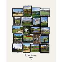Pinehurst Film Strip Poster