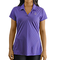 Ladies' Pinehurst Private Label Novelty Print Polo SWATCH