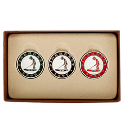 Putter Boy 3 Ball Marker Set