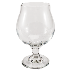 Putter Boy Belgium Beer Glass