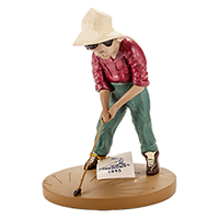 Putter Boy Statue SWATCH