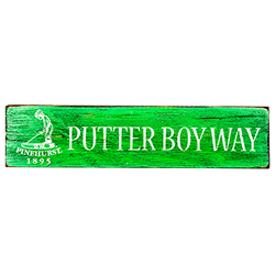 Putter Boy Way Sign Street Sign
