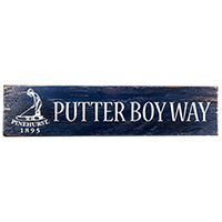 Putter Boy Way Sign Street Sign Mini-Thumbnail