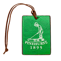 Putter Boy Wooden Bag Tag Mini-Thumbnail