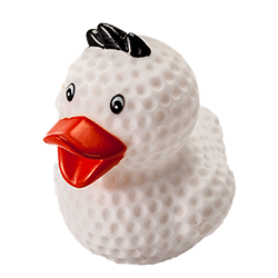 Putter Boy Rubber Duck