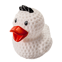 Putter Boy Rubber Duck THUMBNAIL