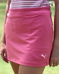 Puma - Youth Girl's Solid Skort THUMBNAIL