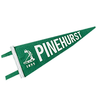Pinehurst Screenprint Pennant SWATCH
