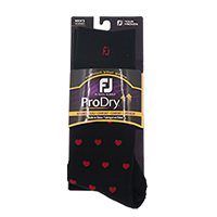 Men's Red Hearts Socks