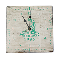 Pinehurst Square Clock_THUMBNAIL