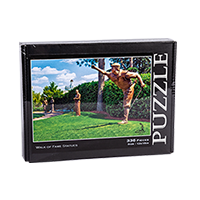 Walk of Fame Statues Puzzle THUMBNAIL