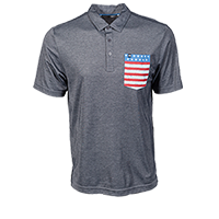Men's Gibli July 4th Polo