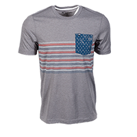 Men's Flasher July 4th Tee