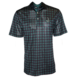 Men's Tartan Collection- Tartan Print Polo
