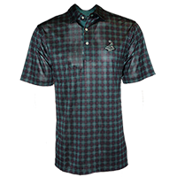 Men's Tartan Collection- Tartan Print Polo Mini-Thumbnail