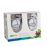 Tervis-Pinehurst Navy Wrap Stemless Set of 2 Mini-Thumbnail