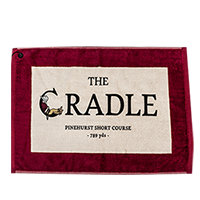 The Cradle Edge Golf Towel