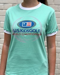 L2 - Girl's US Kids Ringer Tee THUMBNAIL