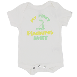 My First Pinehurst Shirt Onesie_MAIN