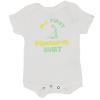 My First Pinehurst Shirt Onesie THUMBNAIL