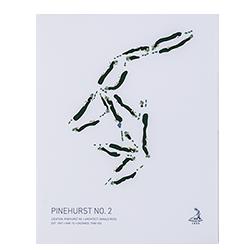 Pinehurst No 2 Giclee Print 11x14 Pinehurst Resort Country